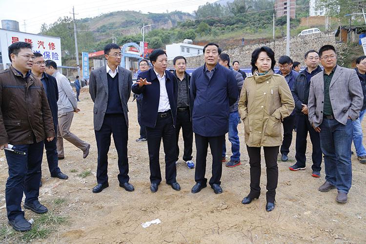 张登亮率队到巧家调研白鹤滩水电站移民工作