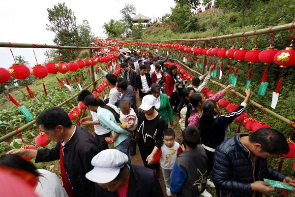 巧家县第二届乡村文化旅游节文化体验活动精彩纷呈