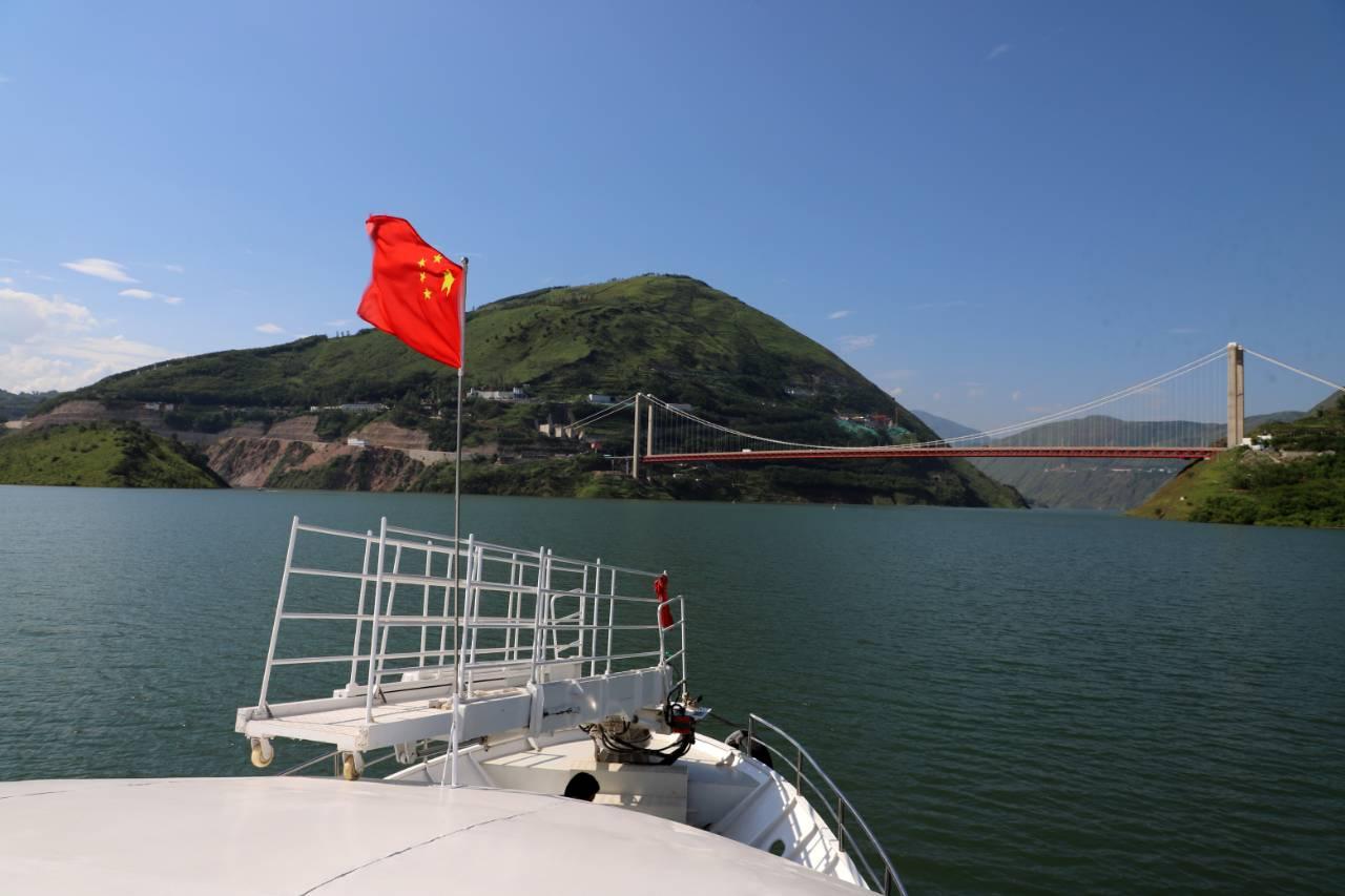 金沙江白鹤滩水电站蓄水至800米 库区运行安全稳定